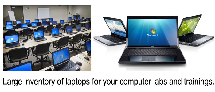 Laptop training ans computer labs